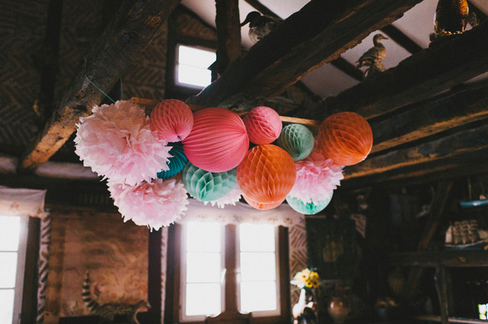 Paper lanterns with a POP
