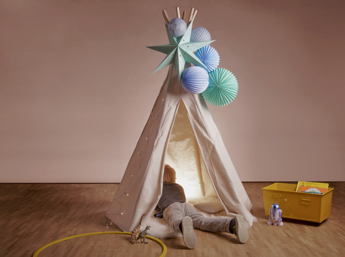 Let's make this teepee even cuter: new TIPI kit