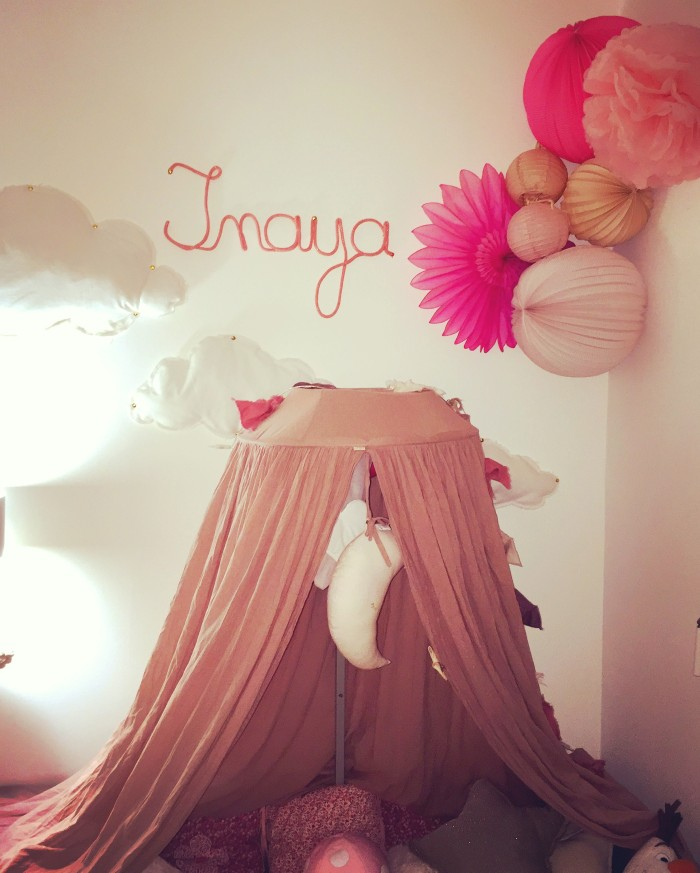 Inaya's bedroom