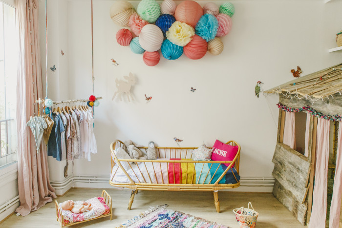 colorful and original kids nursery