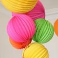décoration d'anniversaire colorée pour petits et grands