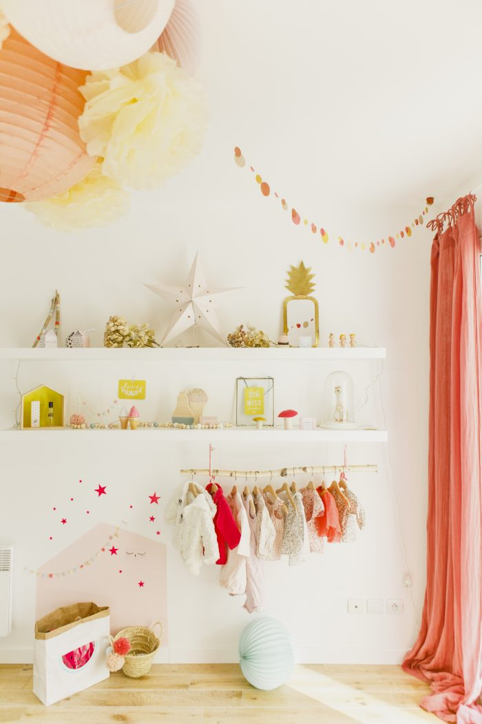 Powder palette nursery decor