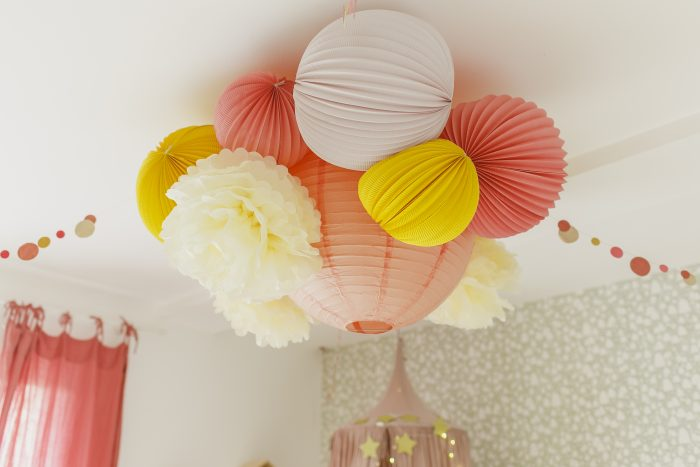 A chandelier for your princess nursery
